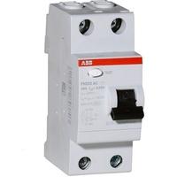 УЗО ABB 2p.63A-100mA  F202 | 2CSF202001R2630
